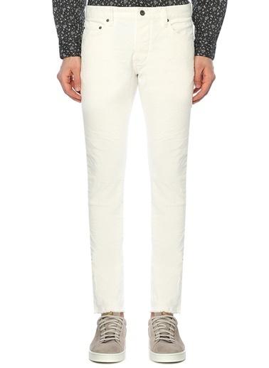 John Varvatos Star USA Jean Pantolon Beyaz